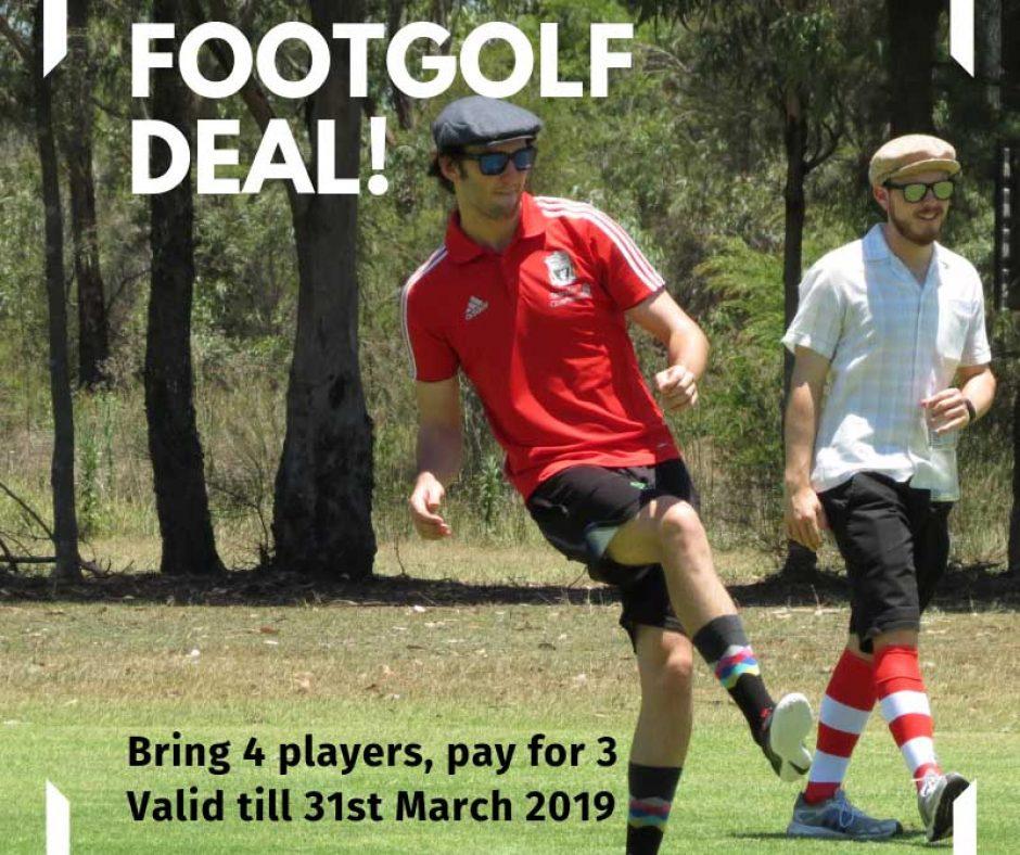Footgolf deal 2019